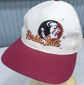 19254abe1d142 Image is loading Florida-State-Seminoles-NCAA-VTG-Snapback-Baseball-Cap-