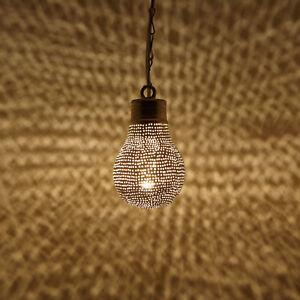 Orientalische Marokkanische Lampe Hängelampe Hängeleuchte Birnenform