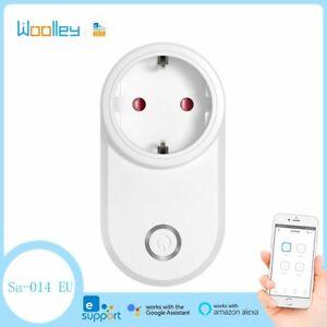 WIFI EU Smart Plug Power Socket Switch APP Control Timing for eWelink Alexa