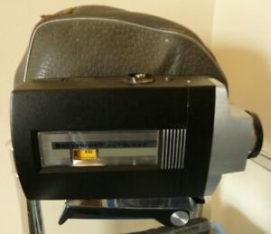 Vintage-Bell-amp-Howell-Optronic-Eye-Super-Eight-Movie-Camera-amp-Case-Nice-Camera