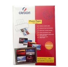 Canson Fotopapier 280g/m² DIN-A4 10 Blatt Fotos mit Glatten Rändern
