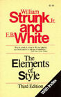 Elements of Style by Strunk, WHITE (Paperback, 1995)
