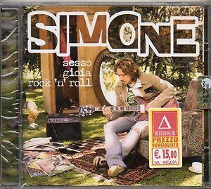 SIMONE-TOMASSINI-CD-Sesso-gioia-rock-039-n-039-roll-2006-FUORI-CATALOGO-nuovo-sigillato