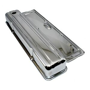 Chrome-Valve-Cover-w-Side-Plate-Inline-Straight-6-Cylinder-Chevy-235