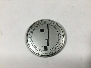 Vintage 1980s BAUHAUS WEIMAR Large Pin Back Button