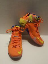 70bd52732143 item 3 Nike Lebron XII six meridians mens 9 684593-870 basketball shoes  orange yellow -Nike Lebron XII six meridians mens 9 684593-870 basketball  shoes ...