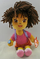 Dora And Diego Ty Beanie Babies - 8 Inches -
