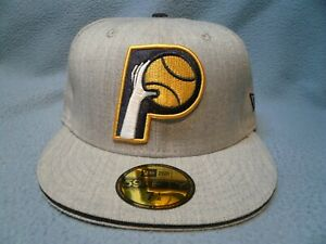 New-Era-59fifty-Indiana-Pacers-Heather-Slice-BRAND-NEW-Fitted-cap-hat-NBA