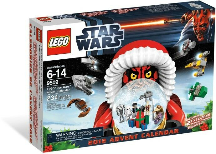 LEGO 9509 Star Wars Adventskalender Advent Calendar mit 9 Minifiguren General Gr