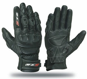 KNOX-KYB-Motorbike-Motorcycle-GLOVES-Leather-SPS-Armour-Protection-Hard-Knuckle