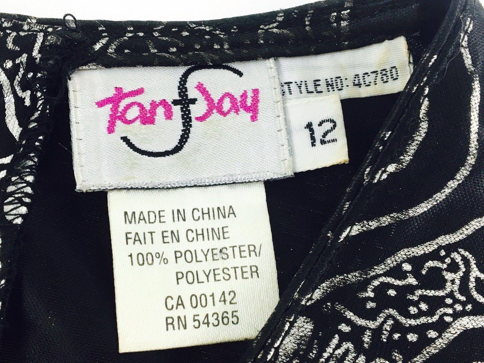 Silver Black Foil Snakeskin Size 12 14 Vintage 90s 00s Cut Out Crop Top