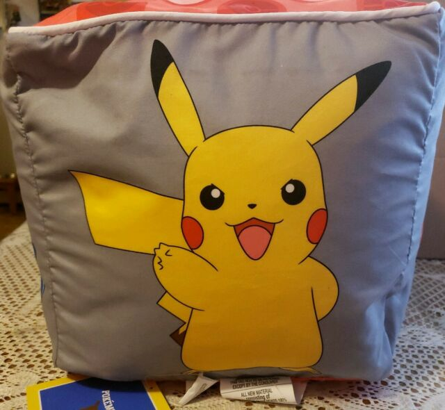 Fine Pokemon Bean Bag Cube Chair Stool Ottoman Pikachu 12X12 Rowlet Litten Popplio Gmtry Best Dining Table And Chair Ideas Images Gmtryco