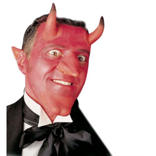 Teufelshörner rot Teufel Set Make Up Teufels Hörner Kinn Makeup Nase Lucifer