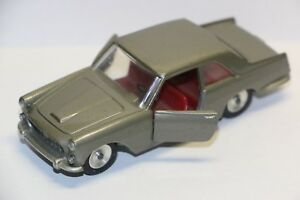 Solido-Ref-121-Lancia-Flaminia-Coupe-Car-Gray-Exc-NO-Box-France-1-43-Diecast