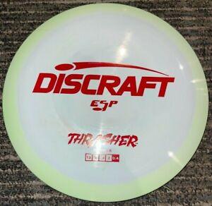 DISCRAFT ESP THRASHER SWIRLY DISC GOLF DRIVER 170-2G GREEN / RED @ LSDISCS