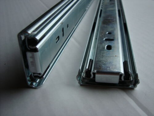 Paar Vollauszüge  Self-Close 45kg Trag.Vollauszug 350 bis 700mm Teleskopschienen