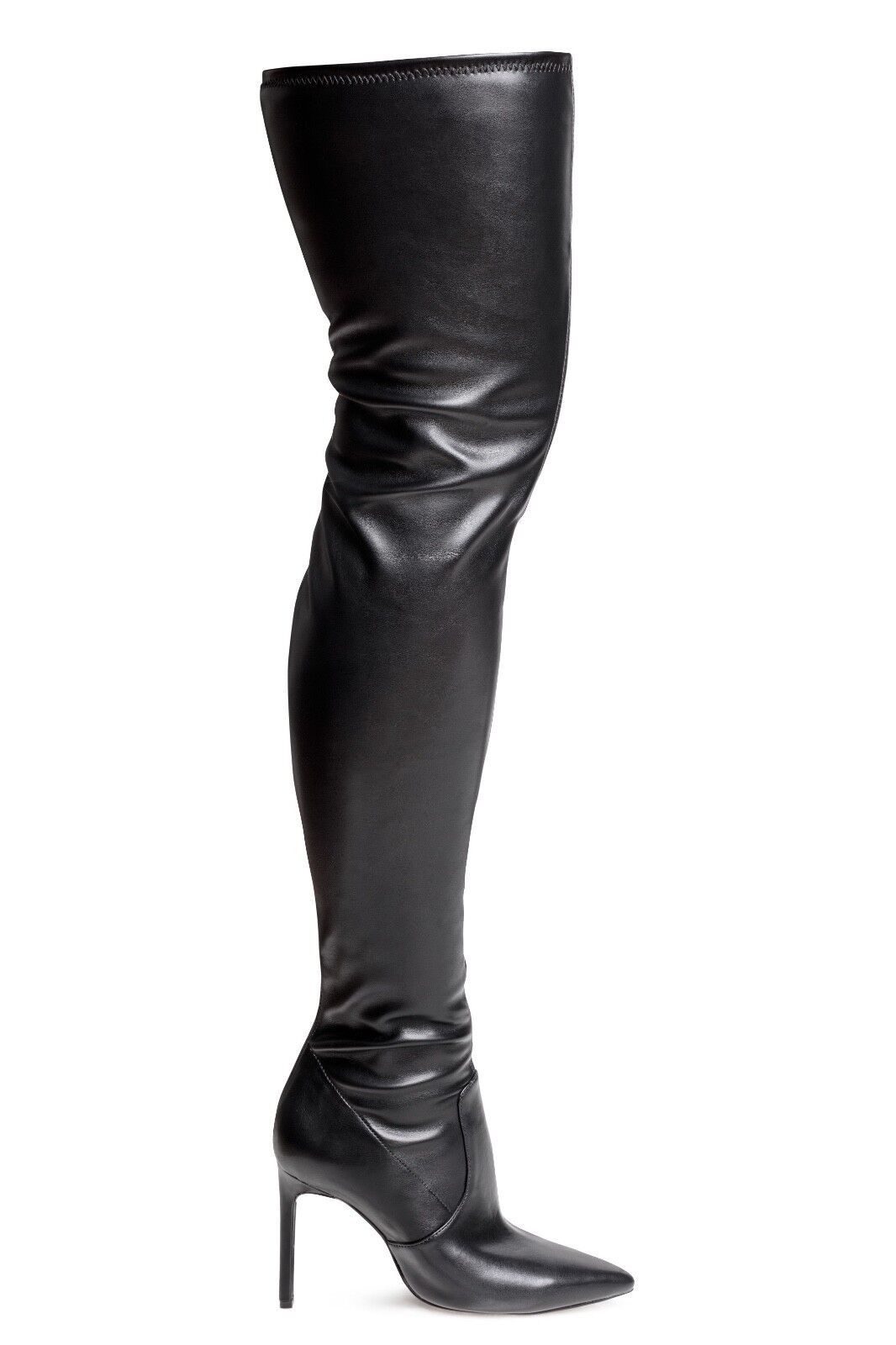 H&M LEATHER THIGH bottes Taille 38, 39
