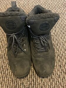 Caitin Mens Insulated Cold-Weather Boots Durable Hiking Boots