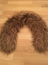 Women's Brown Fur Scarf H&M