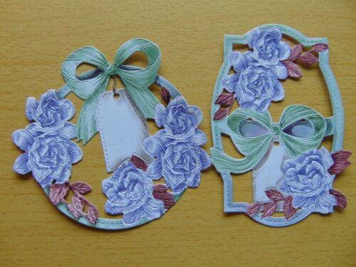 Tattered Lace carisma dado corta delicado /& detallada Gardenia 20 Colores