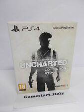 UNCHARTED THE NATHAN DRAKE COLLECTION SPECIAL EDITION - SONY PS4 - NEW VERS ITA