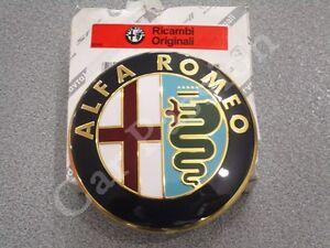 fregio-stemma-logo-ALFA-ROMEO-159-POSTERIORE-ORIGINALE-74mm-REAR-EMBLEM