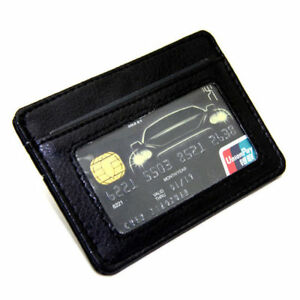 Real-Leather-Card-Holder-Slim-Bank-Credit-Card-ID-Holder-Case-Bag-Wallet-Holder