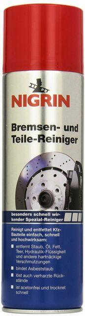 Nigrin Bremsen & Teilereiniger 500 Ml Auto & Motorrad Reinigung Pflege Beste