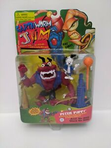 Vintage-Earthworm-Jim-1995-Peter-Puppy-Item-8605-See-Pictures-Factory-Sealed
