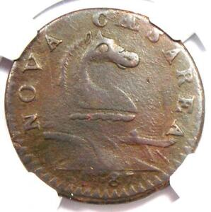 1787 New Jersey Colonial Coin (Sprig Variety) - Certified NGC XF Detail
