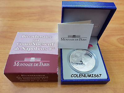 1,50 Euro Francia France Frankreich 2004 - Coronacion De Napoleon - Silver Plata