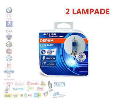 COPPIA HB4 9006 OSRAM COOL BLUE BOOST 5000K 50/% 69006CBB-HCB