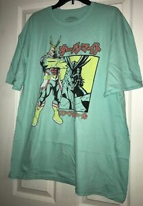 XL OR  2XL My Hero Academia All Might T-Shirt Mens NEW L
