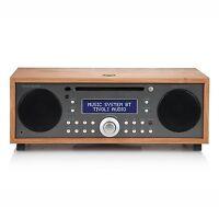 Tivoli Audio Music System Bt Cherry/taupe Am/fm/cd System W/bluetooth on sale
