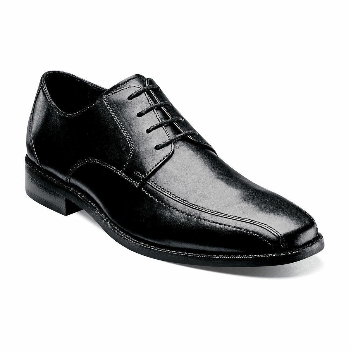 Florsheim Men's Castellano Bike Toe Oxford Black shoes 14139-001