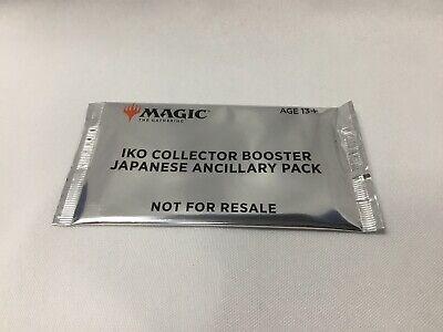 ancillary pack Sealed MTG Magic the Gathering Ikoria Collectors Booster Box