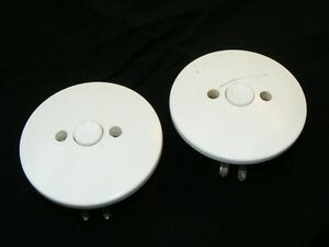 Alter Bakelit Schalter Unterputz Lichtschalter UP Taster Klingel, Art Deco Loft