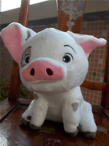moana pua pig disney store plush toy doll 9 5 soft stuffed animal