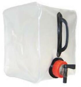 Expandable Water Container Carrier 13 Litre Folds flat Camping Picnic Travel 4WD