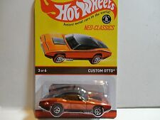 Hot Wheels Redline Neo-Classics Series Orange Chrome Custom Otto