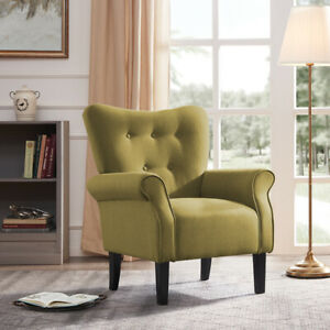 Fabric-Club-Chair-Accent-Arm-Chair-Upholstered-Single-Sofa-Living-Room-Furniture