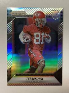 Tyreek-Hill-2016-Panini-Silver-Prizm-RC-Chiefs-296-NM-MT