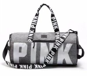 Image Is Loading Victoria 039 S Secret Love Pink Duffel Gym