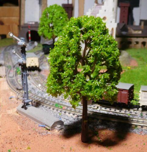 115 mm hoch 5 maigrüne Laubbäume