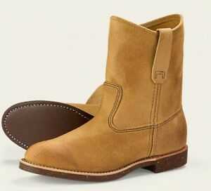 Hawthorne Mens Wing 8188 Pecos Heritage Beige pollici Boots lavoro Red 11 zqd5q