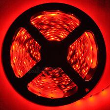 5M 3528 SMD Red 300 leds Non-Waterproof Flexible Strip Light Lamp LED Tape DC12V