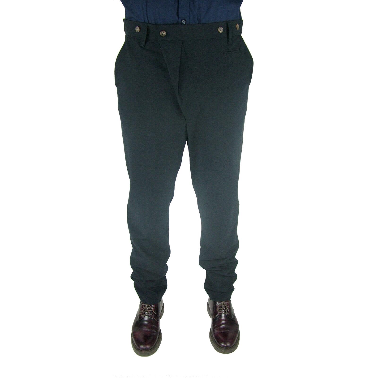 Pantalone Jeans Slim Tuta Turca Capri Cavallo Basso men I'M BRIAN blue Estivo