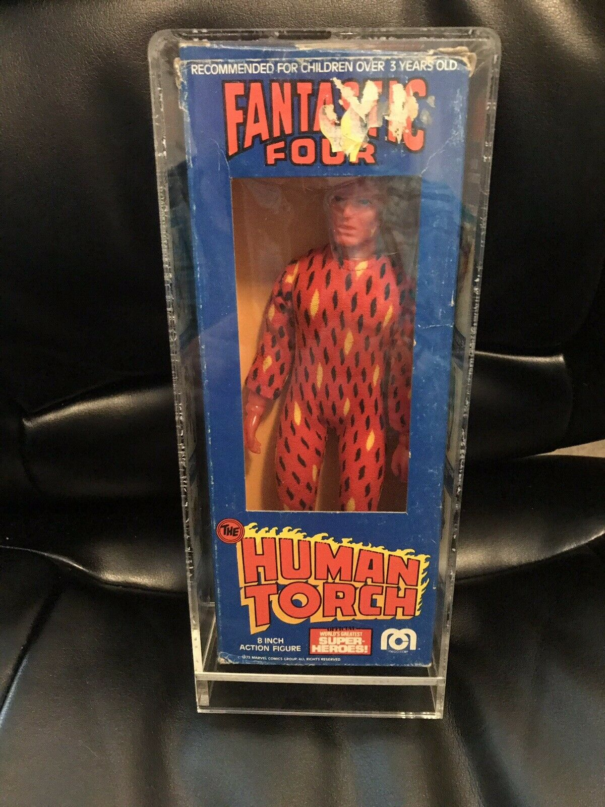 Mego Fantastic Four The Human Torch Torch Torch 8  Mego Mint In Box 1975 a6acbf