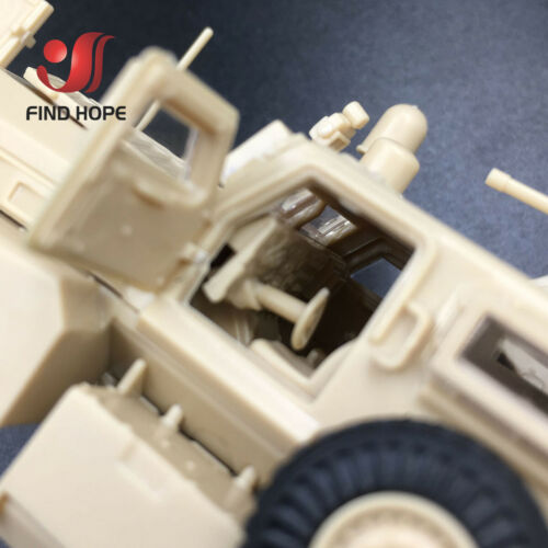 1:72 US Cougar 6x6 MRAP Vehicle American Modern Military Army Assembly Model