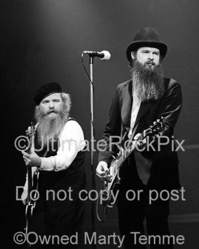 BILLY GIBBONS PHOTO DUSTY HILL ZZ TOP 8x10 Concert Photo 1979 by Marty Temme 1C